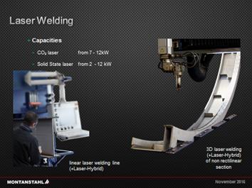Laser Welding by Montanstahl