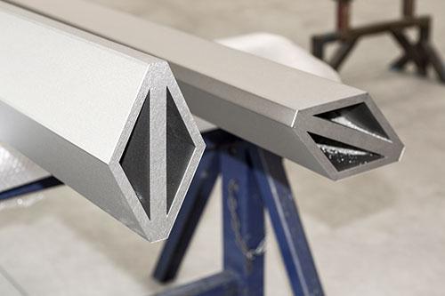 Diamond shaped Profile